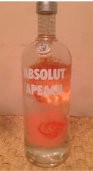 BW-Absolut Apeach Vodka 1L T12