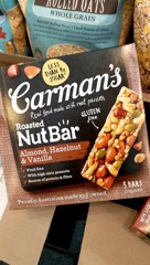 GR-Nut Bar Almond Hazelnut Carman's 175g