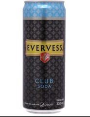 BS-Club Soda Evervess 330ml
