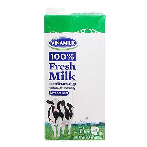 DM-Sweetened UHT 100% Fresh Milk Vinamilk 1L