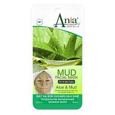 PU-Aloe Vera Mud Mask Ania 25ml
