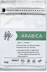 CF-100% Arabica Powder Coffe Fefe 250g T5