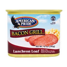 CDF-Bacon Grill Luncheon Loaf American Pride 340g