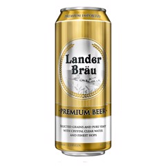 BBI-Beer Lander Brau Premium 300ml (Bottle)