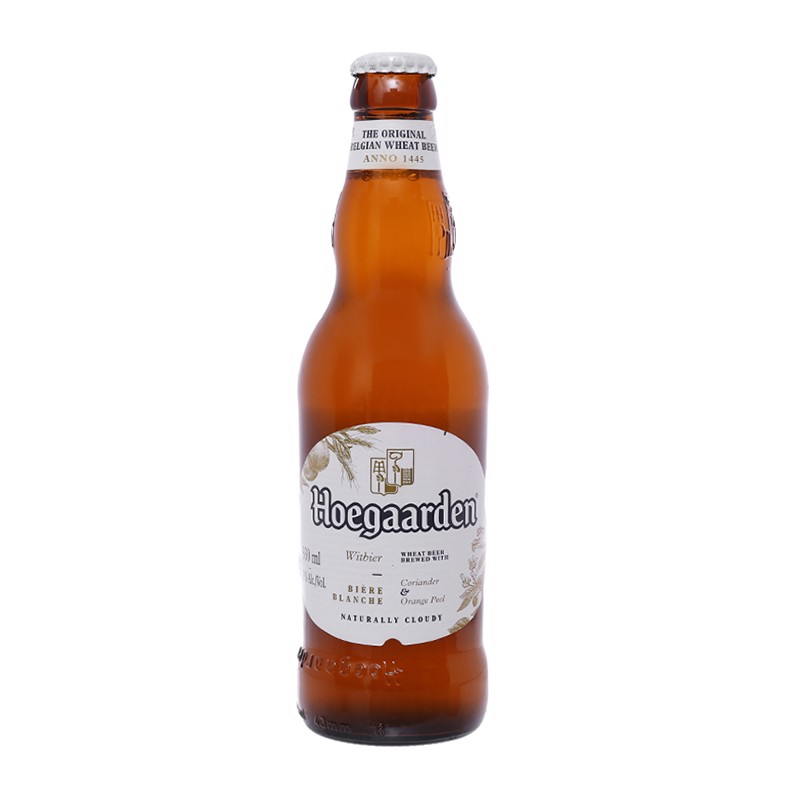 BBI-Beer Hoegaarden Naturally Cloudy 330ml (Bottle)
