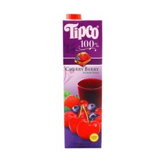 BJ-Cherry Berry & Grape Juice 1L