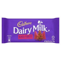 CH-Black Forest Dairy Milk Cadbury 100g T7
