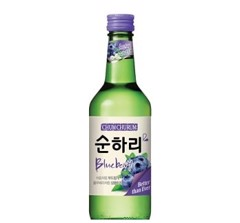 BW-Blueberry Soju Chum Churum 360ml T5