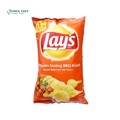 SN-Brazil BBQ Pork Rib Potato Chips Lay's 33g