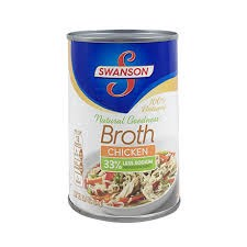 CDF-Broth Chicken Swanson 411g