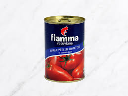VET-Whole Peeled Tomatos Fiamma 400g