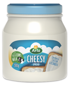 DC-Cheesy Spread Cheese Arla 140g