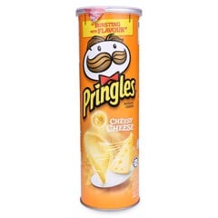 SN-Cheesy Cheese Potato Crisps Pringles 110g