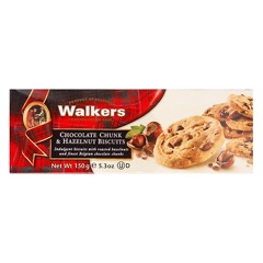 PBC-Chocolate Chunk & Hazelnut Biscuit Walkers 150g