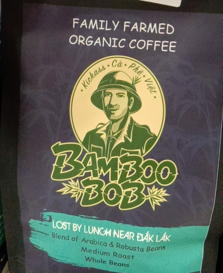 CF-Coffee 80% Arabica Whole Bean Bamboo Bob 500g T12 (Pack)