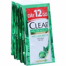 PU-Cool Mint Shampoo Clear 6g (Pack)