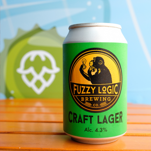 BB-Craft Lager 4.3% Fuzzy Logic 330ml T2