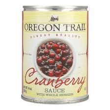 SS-Cranberry Sauce Oregon Trail All natural 397g