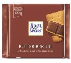 CH-Butter Biscuit Chocolate Ritter Sport 100g