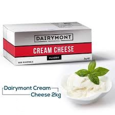 OD-DC-Cream Cheese DairyMont 2Kg (Price for 1Kg/pack 150g)