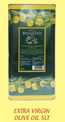 O-Extra Virgin Olive Oil Belgusto 5L