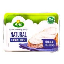 DC-Natural Cream Cheese Arla 24.5% 150g T10