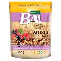 G-Bakalland Crunchy Muesli 5 Nut & Honey 300g T11