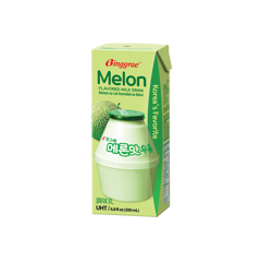 DM-Melon Flavored Milk Binggrae 200ml
