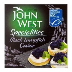 MF-Black Lumpfish Caviar John West 50g