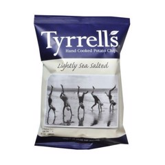 SN- Tyrrells Lightly Sea Salted 40g