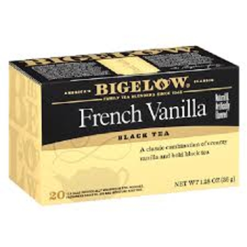 T-French Vanilla Black Tea Bigelow 36g