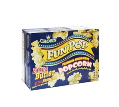 G-Extra Butter Microwave Popcorn Crow 297g T5