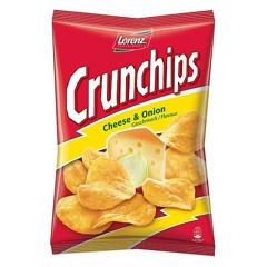 SN-Cheese & Onion Crunchips Lorenz 100g