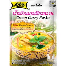 SS-Green Curry Paste Thailand 50g