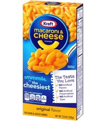 P-Kraft Macaroni & Cheese Original Pasta 206g
