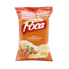SN-Brazil BBQ Pork Rib Potato Chips Poca 60g