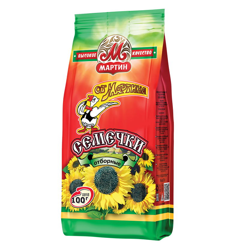 N-Roasted Sunflower Seeds Martin 100g