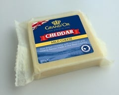 DC-Cheddar White Cheese Grand'Or 200g
