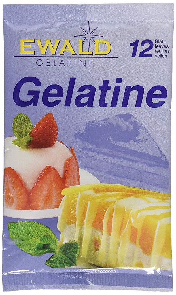SD-Organic Gelatine Leaves Bio 20g T10