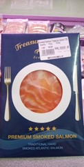 MF-Smoked Salmon Treasure Island 100g T10