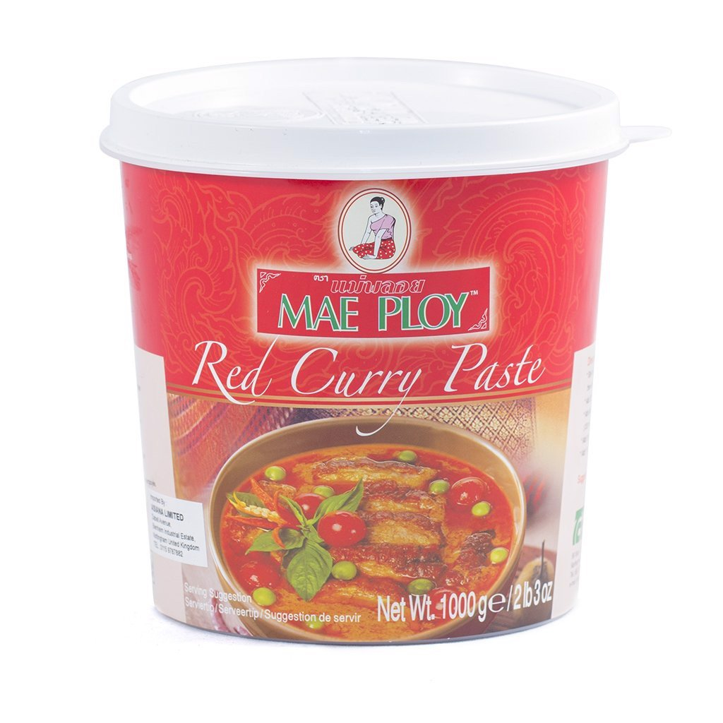 SS-Red Curry Paste Mae Ploy 1Kg T9