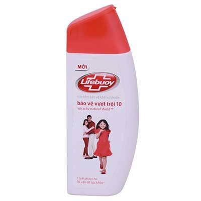 PU-Shower Gel Lifebouy vượt trội 250g