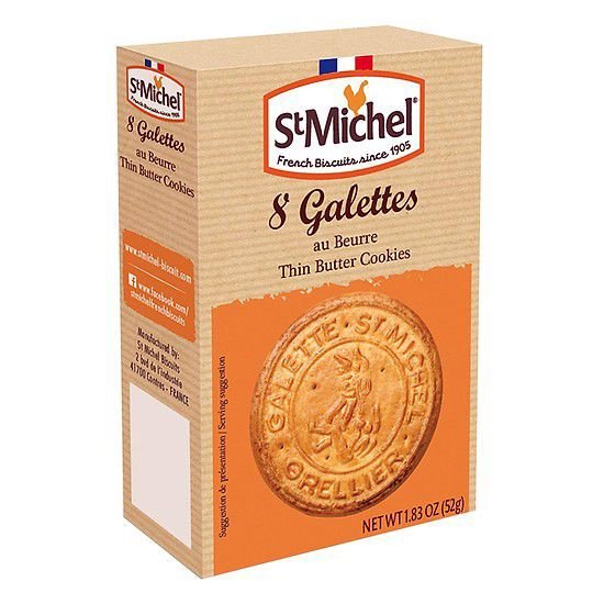 PBC-Traditional Butter Biscuit St Michel 52g