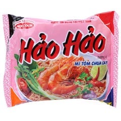 NDI-Hot & Sour Shrimp Noodle Hảo Hảo 75g