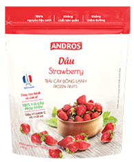VEF-Frozen Strawberry Andros 300g T7