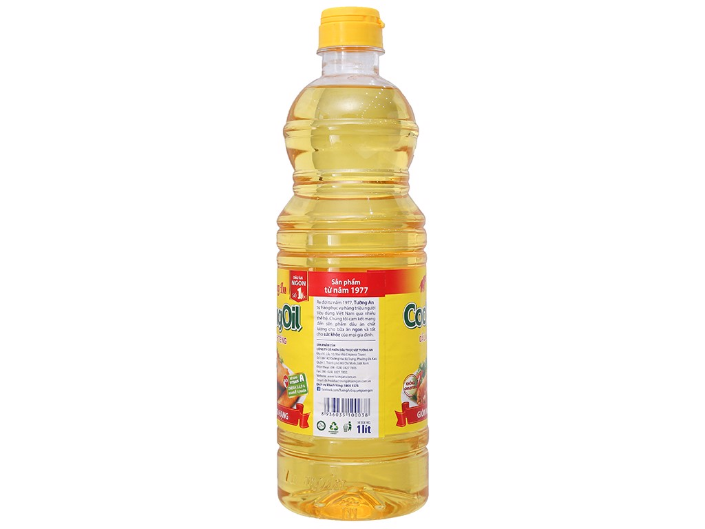 O-Vitamin Extra Cooking Oil Tường An 1L