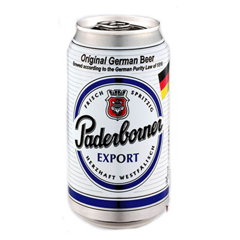 BBI-Beer Export Paderborner 330ml