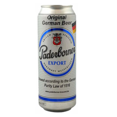 BBI-Beer Export Paderborner 500ml