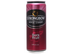 BBI-Dark Fruit Strongbow 330ml (Can)