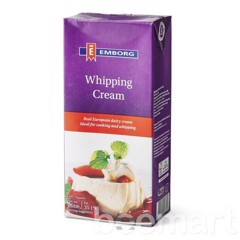 DCW-Whipping Cream 35,1% Emborg 1L